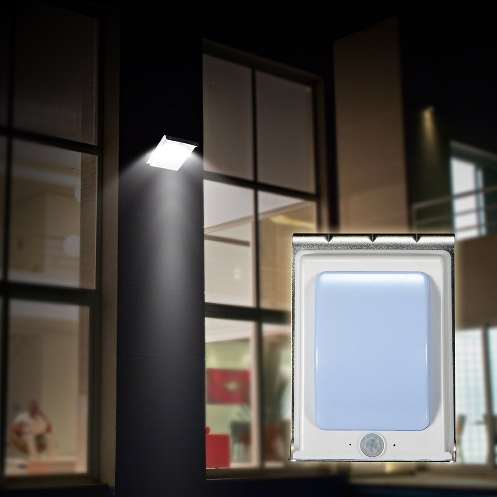 Newest Wireless 24LED Solar Power PIR Infrared Motion Sensor Garden Lamp Human Body Induction Security Outdoor Waterproof Light