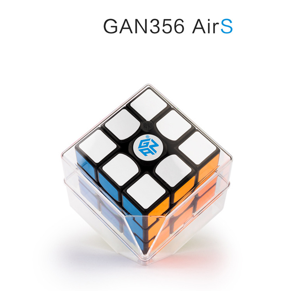 GAN 356 Air S GES V2 3*3*3 Magic Cubes Puzzle Speed Cube Educational Toys Gifts for Kids Children mo yue guo guan yue xiao 3 3 3 black magic cubes puzzle speed rubiks cube educational toys gifts for kids children
