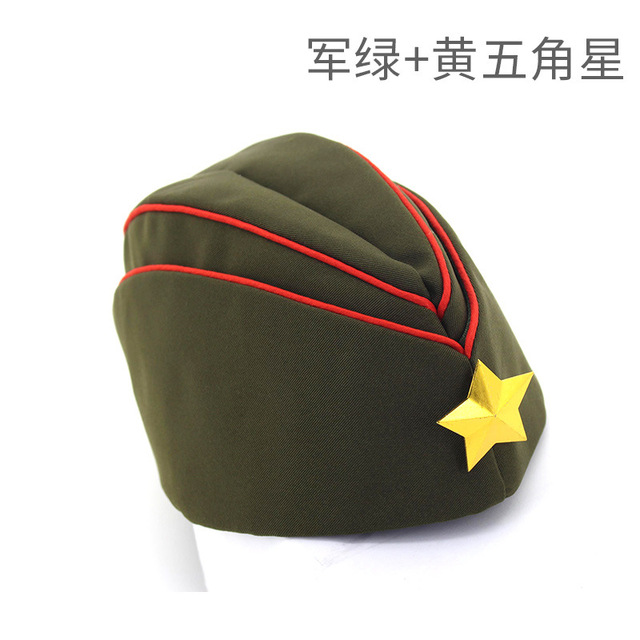 Newly Russian Army Cap Red...