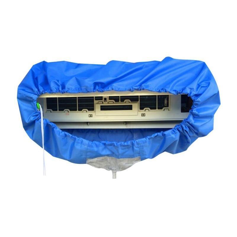 W magazynie 50 sztuk Czyszczenie pokrywy klimatyzacji z wodą A / C osłona przeciwpyłowa z pokrywy klimatyzacji wodnej płaszcz wodny dla 1P-1,5P