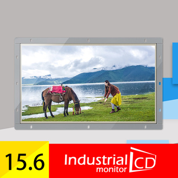 "M156H-OFR/ Faismars 15.6 inch DVI/VGA/HDMI touch monitors/ 15.6 inch 1920*1080 open frame monitor/ 15.6"" touchscreen lcd monitor"