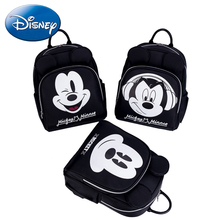 купить Disney Mickey Maternity Bag Mummy Nappy Bags Polyester Large Capacity Baby Bag Travel Backpack Nursing Diaper Bag Baby Care дешево