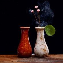 Ceramic small vase flowers