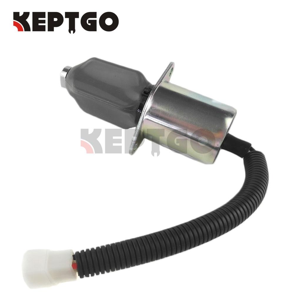 873 M7272733 New Fuel Shut Off Solenoid Fits Bobcat Skid Steer Loader 863