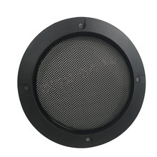 1 pcs Square 4 inch Speaker net Loudspeaker grill arcade game machine accessories cabinet parts for 110mm 8ohm 5W speaker(China)