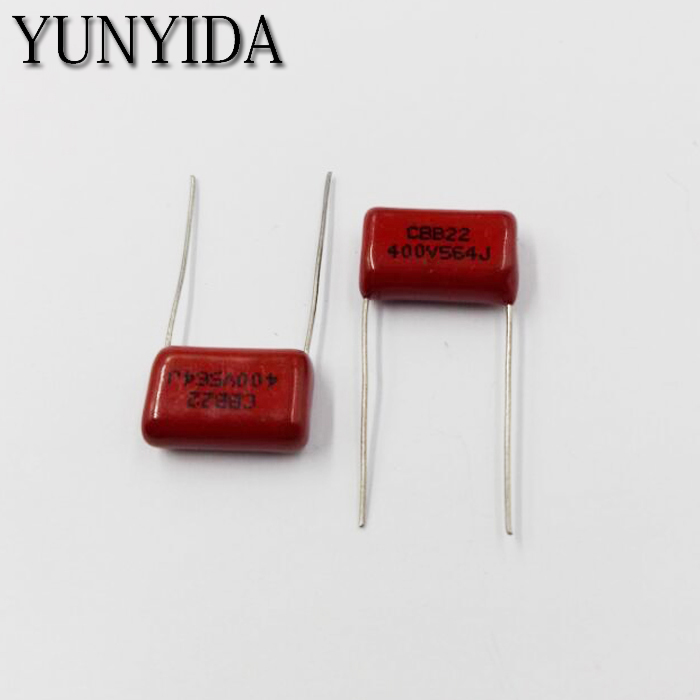 Free Shipping 10pcs, CBB 564J  400V  0.56UF 560NF P15mm  Metallized Film Capacitor  400V564J  564  400V