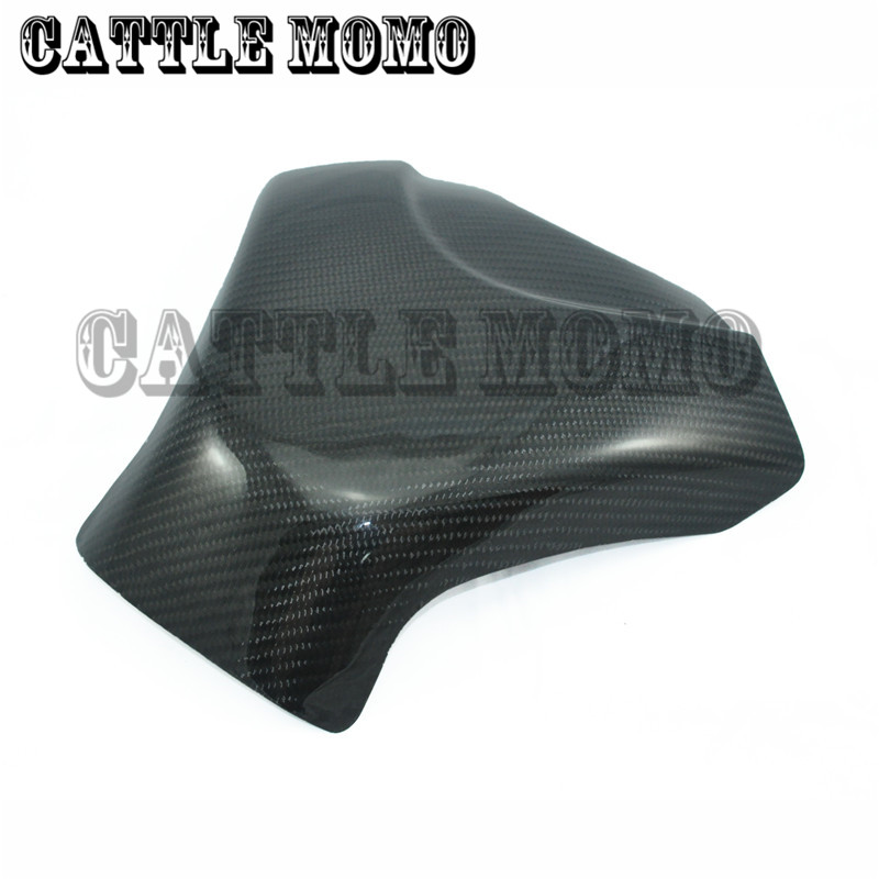 Brand New Motorcycle Carbon Fiber 3D Tank Pad Protector For GSXR1000 K7 2007 2008 Motorbike Tank Cover Protector black color motorcycle accessories carbon fiber fuel gas tank protector pad shield rear carbon fiber for kawasaki z1000 03 06
