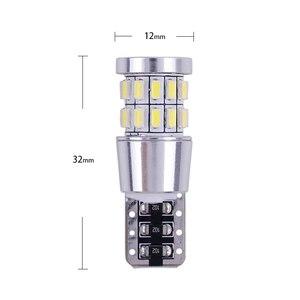 Image 5 - 1pcs T10 W5W LED הנורה 194 168 Canbus לא שגיאת לבן אור 3014 30 SMD עבור רכב פנים כיפה לוחית רישוי אור מנורת 12V