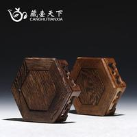 Sect pot of the world Yixing it handicraft wooden base, Chicken wing wooden furnishing articles 1 it base