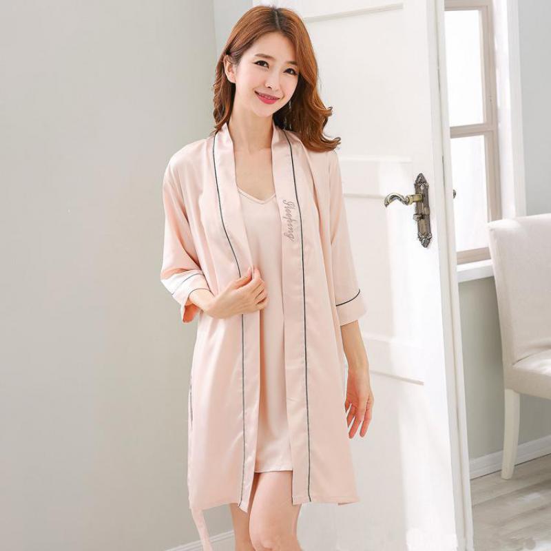 b4f9c8e744 Salotto A Da Delle Vestiti Rayon Kimono Abito Sexy robe xl 14 Casa Notte 4  robe Damigella ...
