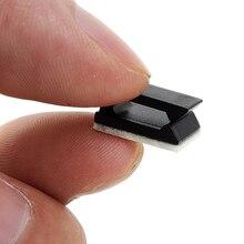 10 шт. Высокое качество черный пластиковый провод фиксированный зажим автомобильный провод держатель кабеля шнура