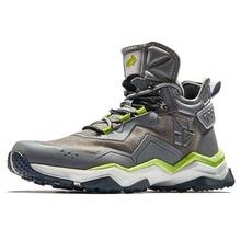 RAX Для мужчин; водонепроницаемые туристические ботинки открытый Треккинговые ботинки зимние дышащие Пеший Туризм Ботинки кожаная Спортивная Кроссовки для Для мужчин
