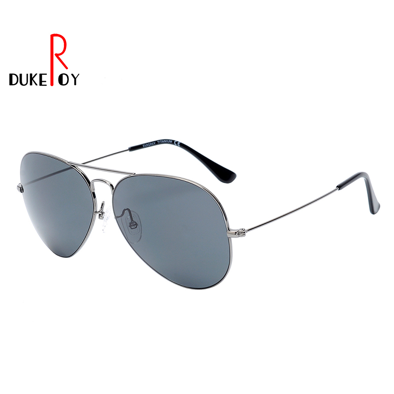 DUKEROY Aviator Polarized Sunglasses Men Women Memory Titanium Polarized SunGlasses Driving UV400 Oculos DR006S new men and women polarized sunglasses fashion toad