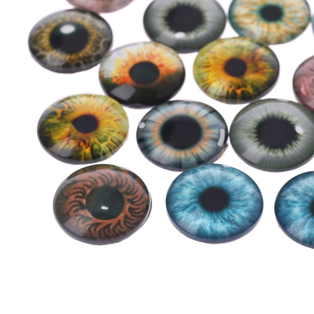 Crafts Doll-Eyes for Dinosaur Eye-Accessories Jewelry-Making Handmade 12mm/18mm 20pcs