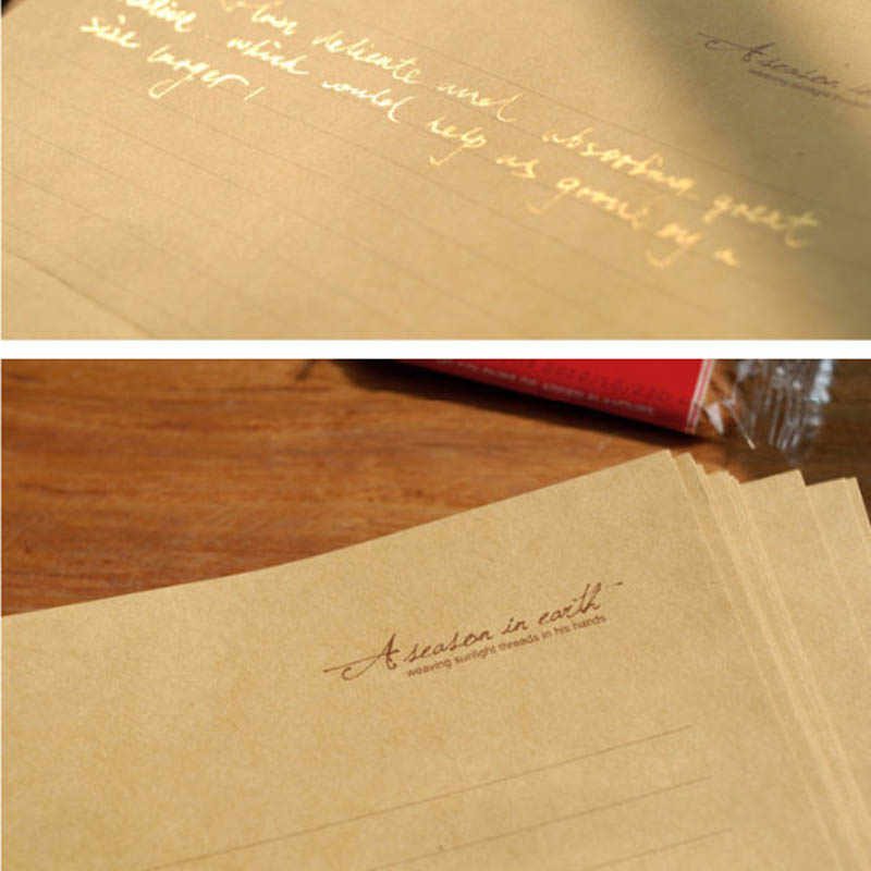 10 + 2 Pcs + 10 قطعة/الحزمة جديد خمر الأمير الصغير برج الأيائل مفتاح إلكتروني ورقة مجموعة/تحية إلكتروني ورقة/ورق للكتابة اللوازم المكتبية