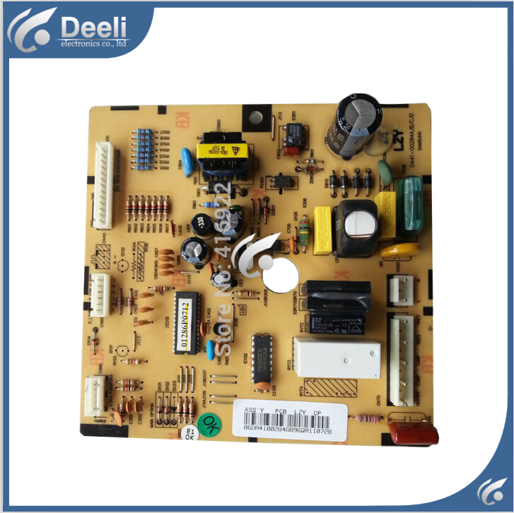 96% new working for Samsung refrigerator pc board Computer board BCD-252NIVR DA41-00284A/B/C/D on sale good working used board for refrigerator computer board power module da41 00482j board