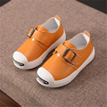 high quality baby boy shoes fashion solid colors soft sole shoes for children's spring and autumn PU leather shoes 3 colors