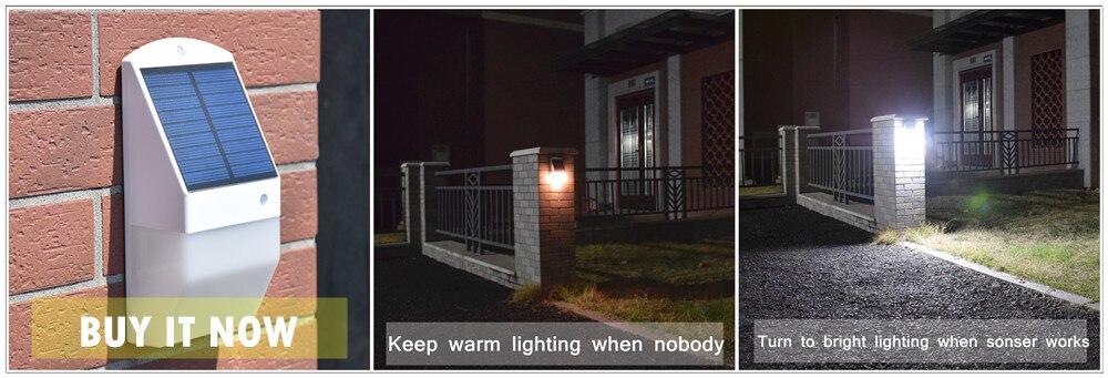Iluminação LED ao ar livre Lâmpada de