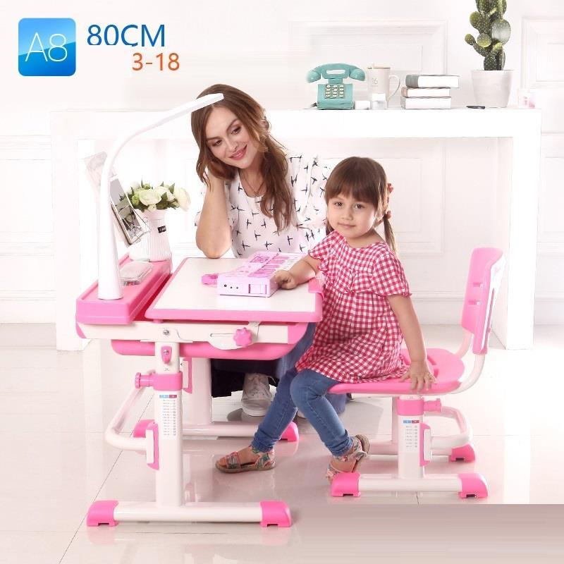 can lift tables and chairs set of home writing pupils desks Children desk multifunctional child learning desk and chair set can adjust the height of tables and chairs according to the height of children