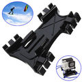 Kiteboarding Kitesurfing Mount Accessories Plastic kite line type flat base mount adapter For Gopro Hero4  Hero 4 3+2 SJ4000