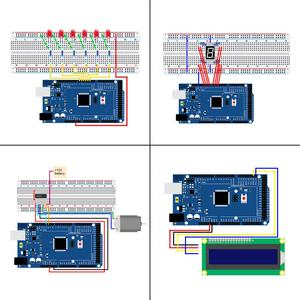 Image 3 - LAFVIN Mega 2560 Project Complete Starter Kit including LCD1602 IIC / Ultrasonic Sensor for Arduino with Tutorial