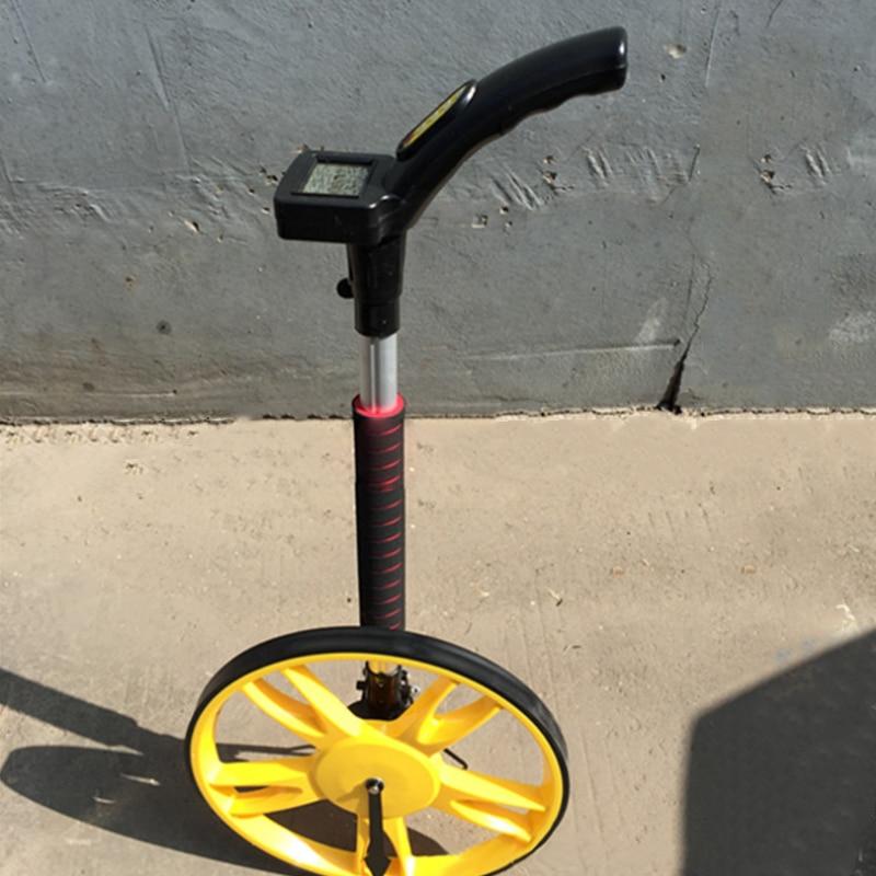 Electronic digital display wheel hand-held wheel rangefinder Outdoor measuring wheel ruler Engineering measuring instrument цена 2017