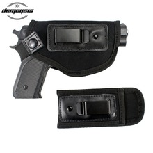 Waistband Handgun Holster With Mag Pouch Pistol Nylon Case For Concealed Carry Fits: S&W M&P Shield Glock 17 19 23 26 27 42 43 недорого