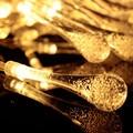 2.2 M 20LED Luces de la Secuencia Del Partido de Navidad de La Boda de La Gota de Agua Grande de la Decoración de iluminación LED de vacaciones e61201