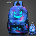 Pokemon Gengar Backpack For Teenagers Girls Pokemon Luminous Canvas School Bags Mochila Pokemon Galaxia De Lona Mochila Feminina