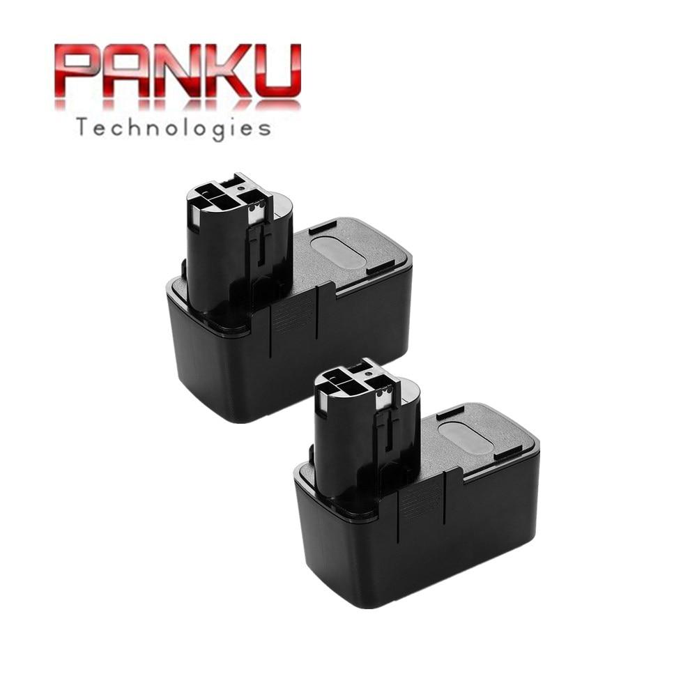 2x Batterie 12v 3000mah pour BOSCH ABS 12 m-2 M 12v AHS 3 ACCU 4 AHS A ACCU