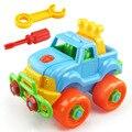 Desmontagem Montagem Carro de Brinquedo Carro de Brinquedo Clássico Com Screw Driver Porca Montessori Early Educacional Puzzle Brinquedos Para Crianças Crianças