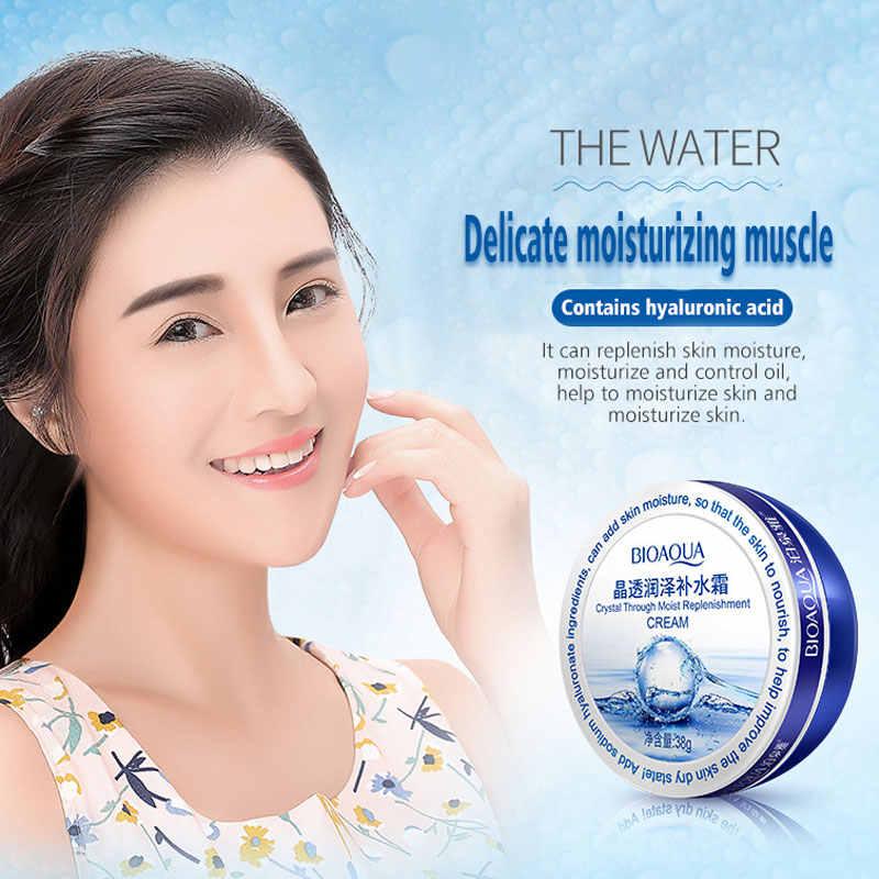 BIOAQUA Кристалл через увлажнение пополнение крем уход за кожей Гиалуроновая кислота эссенция дневной крем сухая кожа увлажняющий уход за лицом