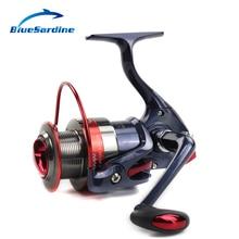 Blue Sardine 12BB 5.5:1 Metal Spinning Fishing Reel Carp Fishing Wheel Pesca Red Spinning Reel Fishing Tackle