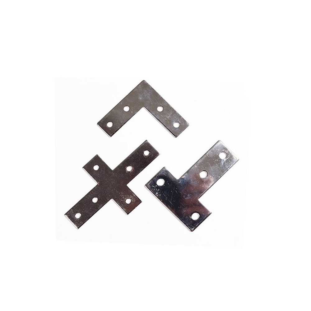 90 Degree Joint Board Plate Corner Angle Bracket Connection Joint Strip for Aluminum Profile 4545 L/T/Cross 5 hole цена