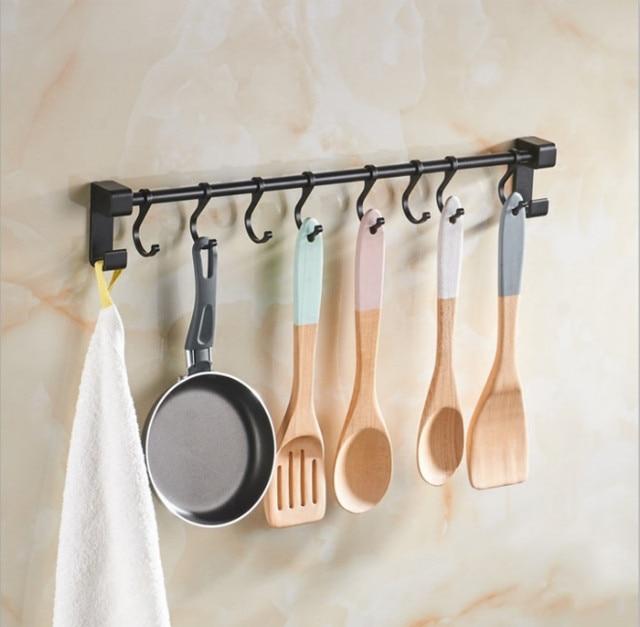 Kitchen Tool Holder Light Fixtures Sucker Storage Holders Rack Organizer Cooking Utensils Hanger Ladle Spatula Whisk Hook For Decoration