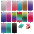 Cases for Apple iPhone 5c 5s Case Transparent Gradient Color Design TPU Silicon Covers Shell Capa 4 inch Phone Accessories