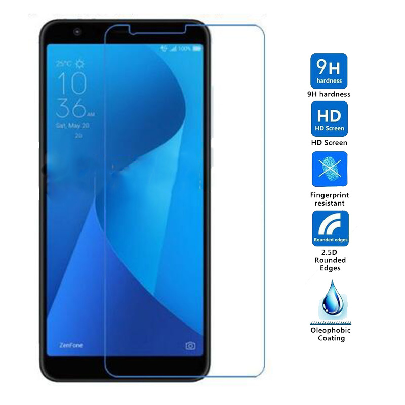 Tempered Glass For Asus Zenfone Max Plus M1 ZB570TL X018D Screen Protector For Asus Zenfone Max Plus/M1 Protective Glass