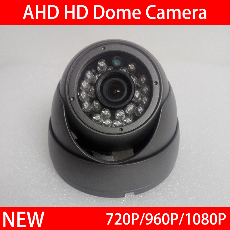 24Pcs Infrared Leds 1080P 960P 720P White Gray Metal Dome AHD CCTV Security Camera Free Shipping