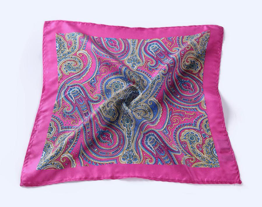 New-N233 HN23K)  Pink Blue Paisley 35cm (5)