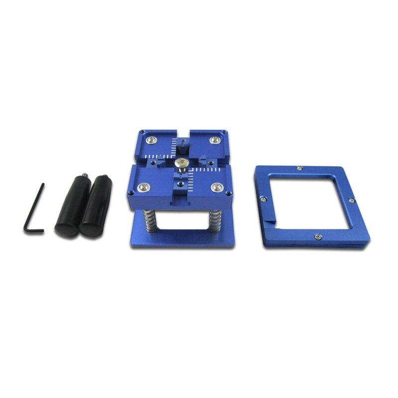 BGA Reballing Station with Handle For 90mm x 90mm Stencils Holder, Template Holder Jig latest laptop xbox ps3 bga 170pcs template bga kit 90mm for chip reballing