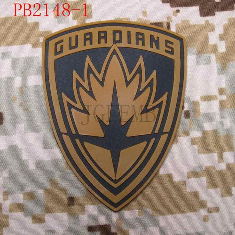 Guardians of the Galaxy Tactical morale Military 3D PVC Patch Style2