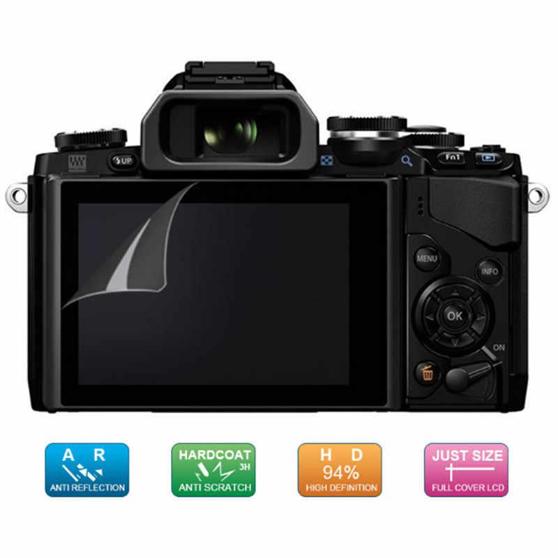 (Paquete de 4 piezas, 2) protector de pantalla de película protectora LCD para Olympus PEN-F/PEN F/Stylus SP-100EE/Stylus 1/1 s