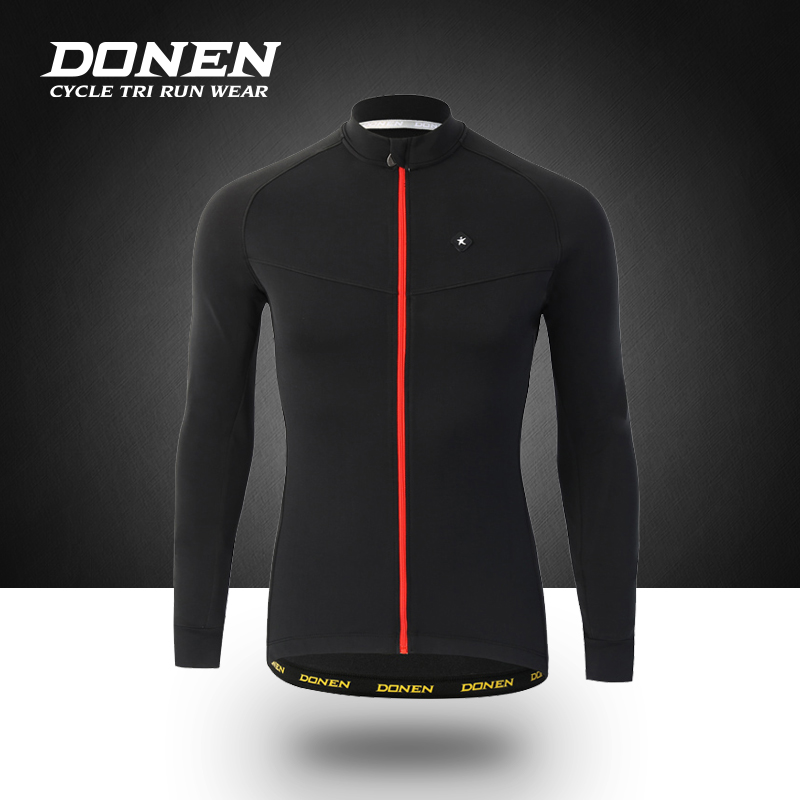 DONEN Spring Autumn Long sleeves Bicycle Cycling Jacket Man Cycling jersey Windproof MTB Bike Clothes ciclismo donen summer short sleeves bicycle cycling set cycling jersey bib shorts sets man jacket mtb bike bicycle ciclismo