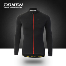 DONEN Spring Autumn Long sleeves Bicycle Cycling Jacket Man Cycling jersey Windproof MTB Bike Clothes ciclismo