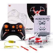 Haute Quqlity SY X23 Mini Quadcopter, RC 6 Axe Gyro LED Lumière 4ch Sans Tête Nano Drone Cadeau Pour Enfants Jouets En Gros