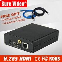 цена на Full HD H.264 AVC HDMI iptv encoder for Live Broadcast to Youtube Wowza Facebook Ustream