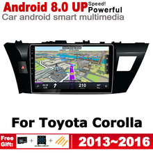 ZaiXi HD IPS Screen Stereo Android Car DVD GPS Navi Map For Toyota Corolla 2013~2016 2 DIN multimedia player radio WiFi system yessun car android player multimedia for toyota fj cruiser radio stereo gps map nav navi navigation no cd dvd 10 hd screen