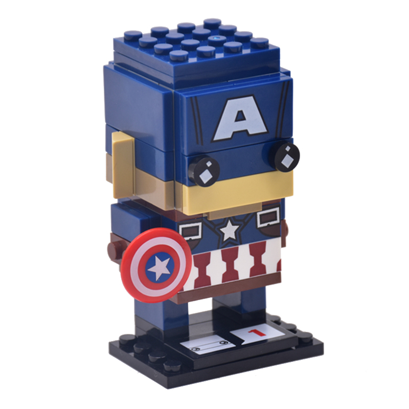 Lepin Blocks SuperHeroes IronMan Marvel Super Heroes Batman Action Figure Gift for Children Building Block Bricks Heads Toys single star wars super heroes marvel ninja wu master building blocks models bricks toys for children kits brinquedos menino