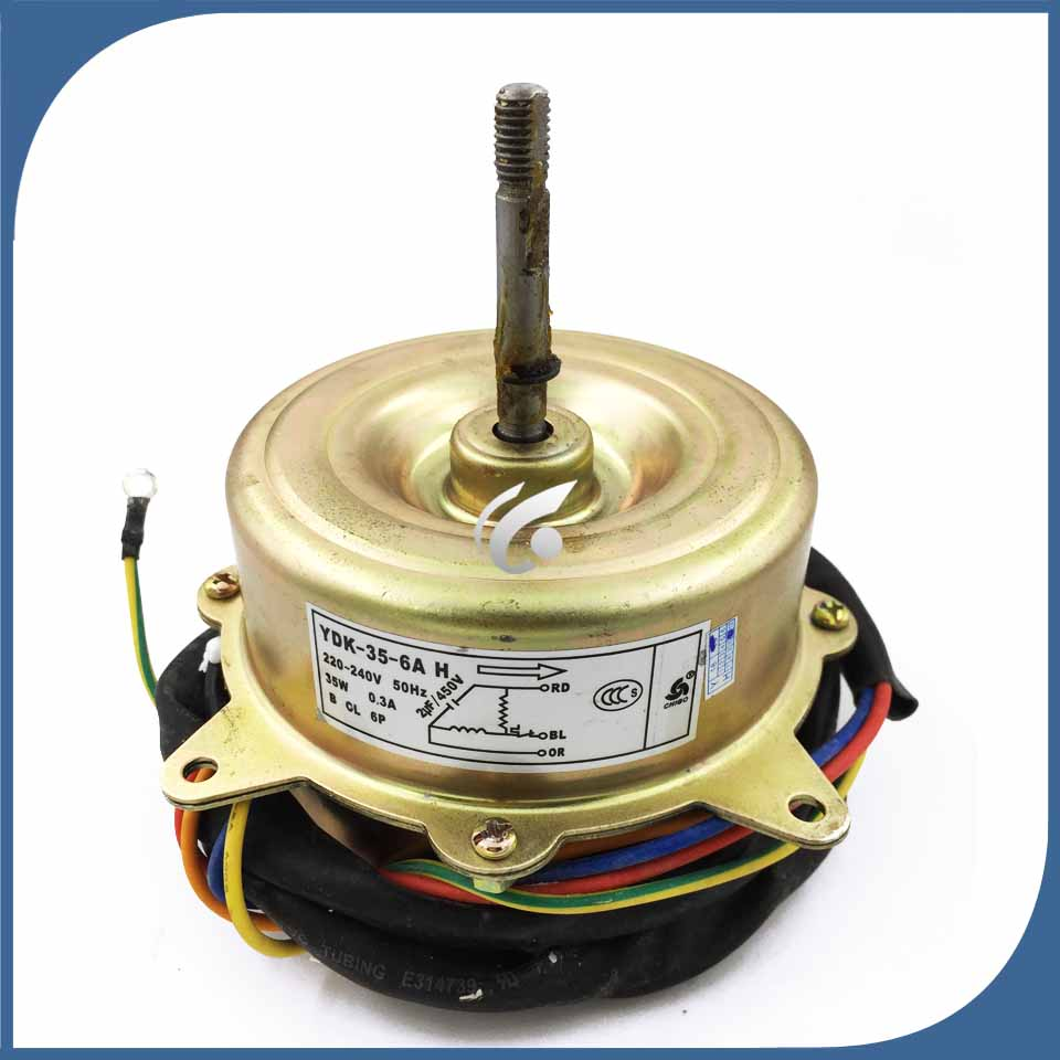 new good working for Air conditioner Fan motor machine motor YDK 35 6A YDK 35 6HG