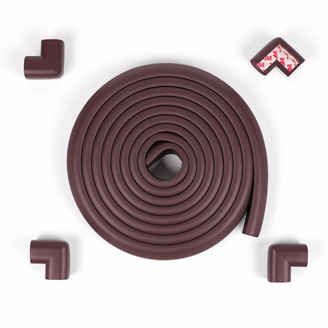 4.6m with 4 angle Baby Safety Soft Corner Protector Table Protective Strip For Kids Children Security Protection from children